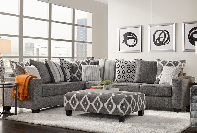 2 Accent Chairs And A Tv And Sectional.Living Room Furniture