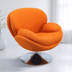 Ashbrook Orange Accent Swivel Chair Rooms To Go
