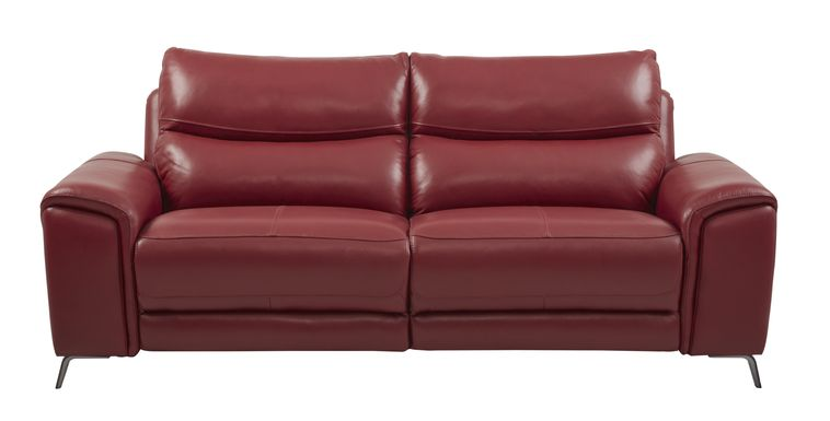 Red Sofas & Couches: Fabric, Microfiber, & more