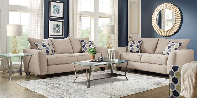 Upholstered Living Room Furniture Sets