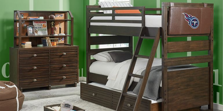 Nfl 1st Goal Tennessee Ans Brown Full Bunk Bed
